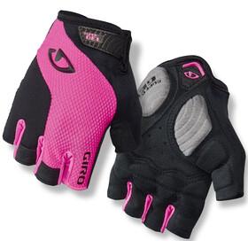 Giro Strada Massa Gel Naiset Pyöräilyhanskat , vaaleanpunainen/musta